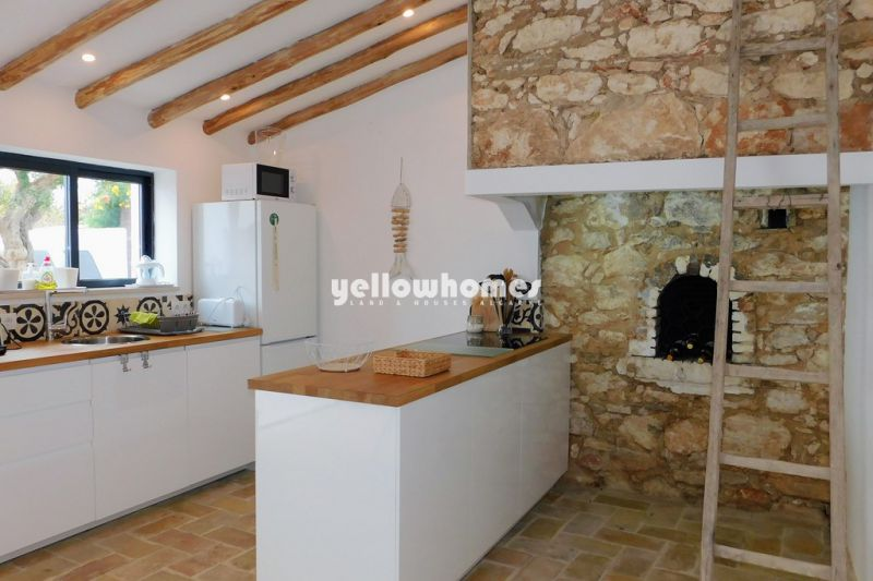 Fully renovated farmhouse with 3 bedrooms and pool near Boliqueime